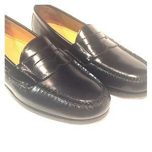 Cole Haan Black Penny Loafers - Soft Leather